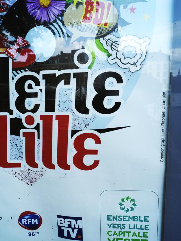 Affiche braderie de Lille © Raphaël Chantalat - Agence Patricia Lucas