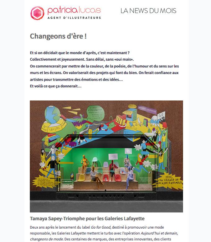 Agence Patricia Lucas - newsletter février 2020
