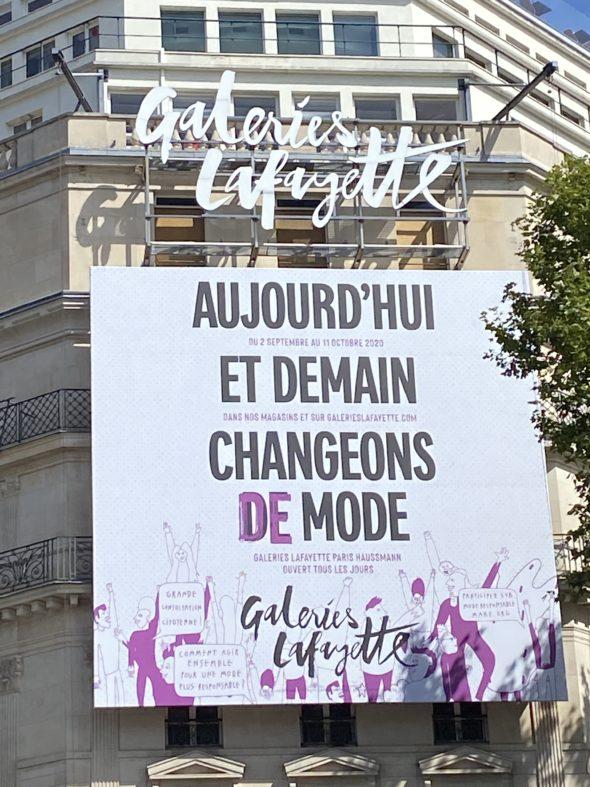 © Tamaya Sapey-Triomphe/Agence Patricia Lucas - Galeries Lafayette